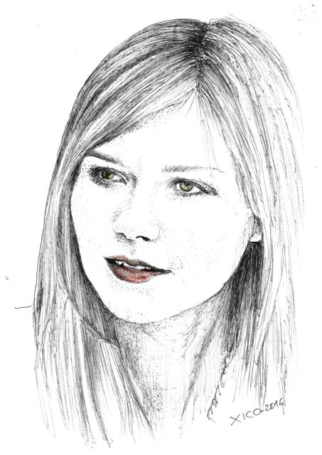 Kirsten Dunst par FCARLOS